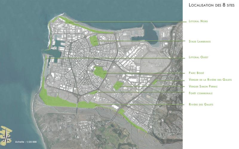 Projet Fil Vert (Le Prt) : Localisations des sites