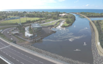 Valorisation du site du Bocage de Ste Suzanne vue stade nautique